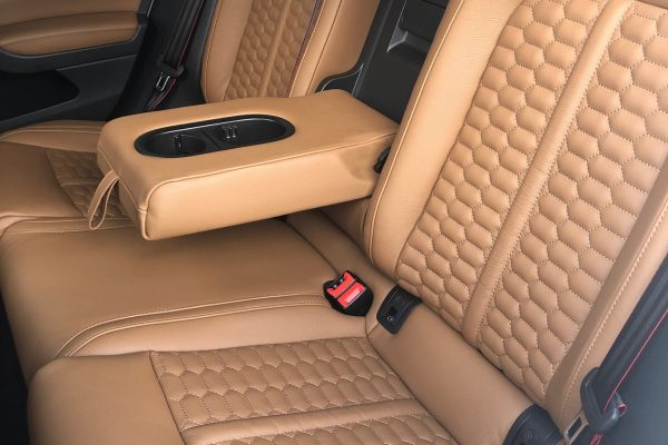 Golf7 Gti saddlebrown honeycomb 2